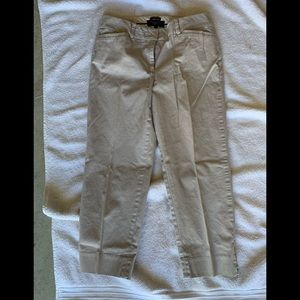 """Talbots """"The Perfect Crop"""" pants"""